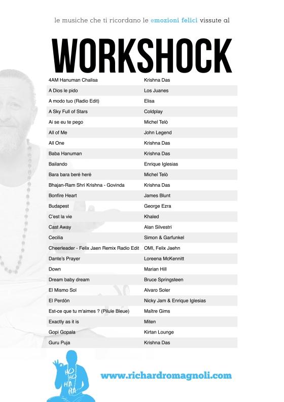 WorkShock - le musiche 20171123 #1